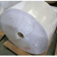 customized Thermal Synthetic adhesive barcode label sticker paper material jombo roll Manufactures