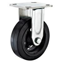 Buy cheap Fixed 6 Inch Heavy Duty Caster Wheels For Institutional Equipment Plate Fittting from wholesalers