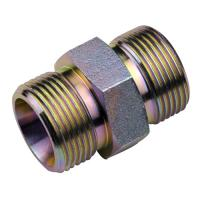 Straight Tube DIN Hydraulic Fittings / Pipe Thread Adapter Fittings Manufactures