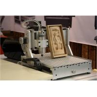 aman 2030 4-axis 1500W 3d cnc wood carving machine wood engraving cutting lathe Manufactures