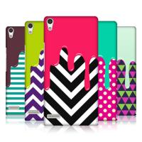 Colorful Ice Cream Ascend P6 Huawei Mobile Phone Cases , Cell Phone Skin Covers Manufactures