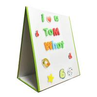 China Desktop Magnetic Dry Erase Board , Personal Dry Erase Board For Kids Learning on sale