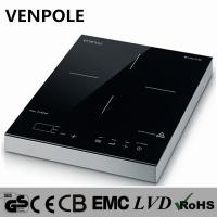 Single Induction cooktop Countertop cookware 2100W GS/CE/EMC/LVD/RoHS Manufactures