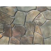 Natural Paving Stone Rusty Slate Irregular Stone Crazy Stone Multicolor Stepping Stone Manufactures