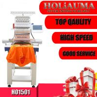 Cheap price one head 15 needles computer embroidery machine for kenya Manufactures