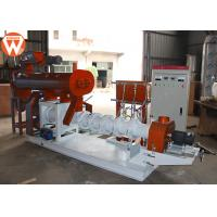 Buy cheap 2250kg Floating Fish Feed Pellet Machine Conditioning Power 3KW Sinking 1T/H from wholesalers