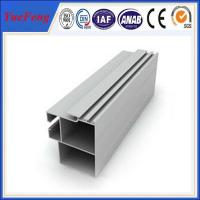Hot! anodized mill aluminum hollow profile, Railway vehicles structure industrial aluminum Manufactures
