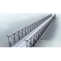 China Delta Assembly Modular Steel Bridge Double Lane With Concrete Deck on sale