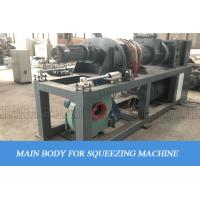 Squeezing Drying Pelletizing PE Film Recycling Machine Two Function In One Manufactures