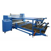 High Pressure Rotary Heat Transfer Machine For Garment , Roll To Roll Manufactures