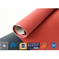 Recycle Silicone Impregnated Fiberglass Cloth For Heat Protection Fireproof Covers Manufactures