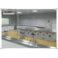 Floor Mounted Chemical Resistant Laboratory Tables With PP Handle Manufactures