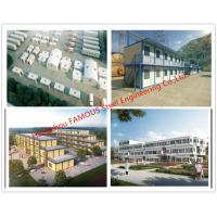 China Lightweight Steel Frame Flat Pack Prefab Containers For International Rescue Camp Or Clinic Office on sale