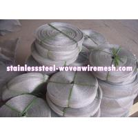 China High Toughness Stainless Steel Knitted Wire Mesh Gas - Liquid Filter Screen on sale