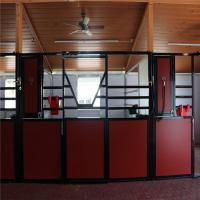 3.6x2.2m Horse stable  Stall Fronts with swing doors or sliding door Manufactures