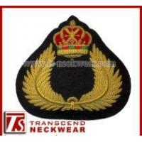 Cap Badges, Embroidery Badges, Hand Embroidery Patches Manufactures