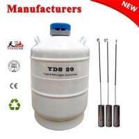 China liquid nitrogen dewar 20L with straps 6 canisters price in AO Manufactures