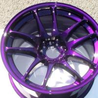 Super Durable Polyester Powder Coating , Polyester Alloy Wheel Powder Coating Manufactures