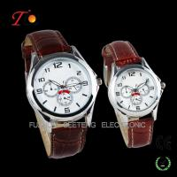 Vogue Pair Watch with PU leather band, Alloy case Manufactures