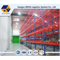 High Strength Heavy Duty Pallet Racking Adjustable Layer Height Custom Size Manufactures