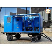 110KV Transformer Insulation Oil Purifier With Double Stage Vacuum Pump System Manufactures