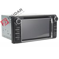 6.2 Inch Digital Touch Screen Toyota DVD GPS Navigator Car Dvd Player Radio IPod Manufactures