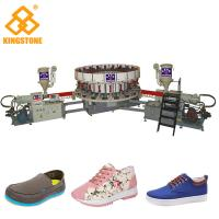 China 20 Stations Canvas Shoe Making Machine , PVC Shoes Making Machine for sport shoes on sale