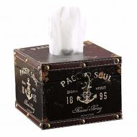 Anchor Sailor Circular Tissue Box Luxurious Box Europe Style Napkin Tissue Holder Manufactures