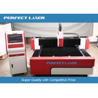 Quality Red Germany IPG Fiber Laser Cutting Machine , Precision metal laser cutter for sale