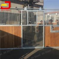 Quality Light Square Stall Front Grills Sheet Good Lateral Stiffness Acid Resistance for sale
