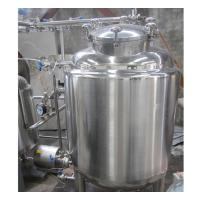 2000L Industrial Stainless Steel Hot Water Tank 100MM Insulation Thickness Manufactures