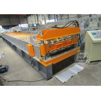 0.6-0.9MM Cold Rolled Roof Sheet Profile Roll Forming Machine Motor Power 7.5KW Manufactures