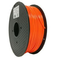 Dark Orange Metal Filled 3D Printer Filament , Dimensional Accuracy +/-0.03 mm Manufactures