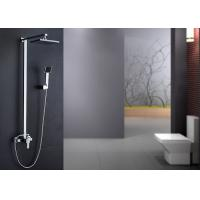 China Brass Body Bathroom Shower Hardware , Complete Bathroom Shower Sets ROVATE on sale