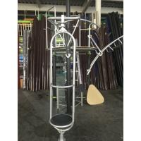 Custom Color Kids Outdoor Gym Equipment With Climbing Net / Slide Bar Manufactures