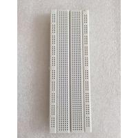 Quality 16.6 * 5.6* 0.85cm Transparent Electronic Breadboard 830 Tie - Point For for sale