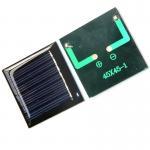 0.3 V DIY Mini Epoxy Resin Solar Panel Charged LED Lights Keychain Pendant Manufactures