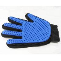 259 Pins Gentle Pet Mitt Brush Five Finger Dog Cleaning Gloves Long Service Life Manufactures