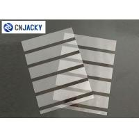 China A4 0.08mm Coated Overlay Film Smart Card Material Magnetic Strip With Hi-Co Lo-Co on sale