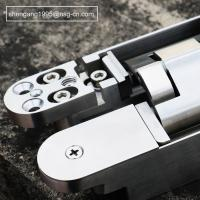 Full Stainless Steel 304 Adjustable Door Hinges 180 Open Loops 160 * 28 * 28 * 32mm Manufactures
