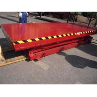 Stationary Aerial Scissor Working Platform 1150mm Lifting Height With Large Capacity Manufactures
