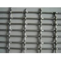 China Stainless Steel Double Crimped Wire Mesh Sand Sieving Square Woven Wire Mesh on sale