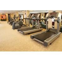 Fitness Corridor Cut Pile Area Rugs With 80% Wool 20% Nylon PCV Backing Manufactures