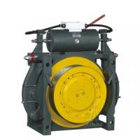 DC 100V Gearless Traction Machine , 1600kg Rated Capacity WWTY Manufactures