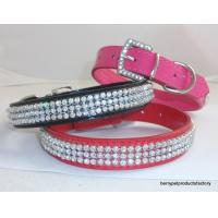 Luxury Dog Collar Rhinestone Collars GCDC-011A Manufactures