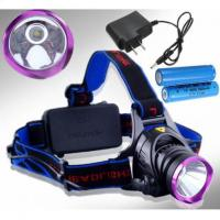 Ultrafire 18650 Power 1800-2000 Lumens CREE XM-L LED Headlamp Flashlight Torch for Hunting Manufactures