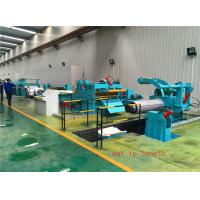China Auto CR HR coil uncoiler-straightening-cut to length line for sale on sale