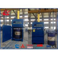 Vertical Hydraulic Drum Crusher , Drum Compactor 25 Ton Force 11kW Motor Manufactures
