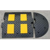 rubber road hump 500*500*50mm speed bump speed breaker Manufactures