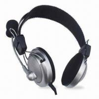 Buy cheap Wired Computer Headset with Mic, High Stereo Sound and Mic Frequency Range From from wholesalers